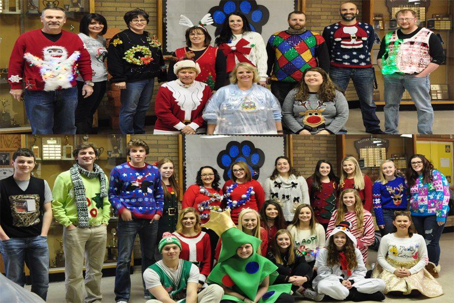 AHS Christmas Sweater Contest