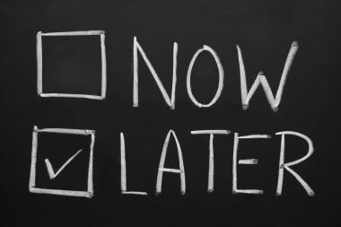 Procrastination: The New Plague