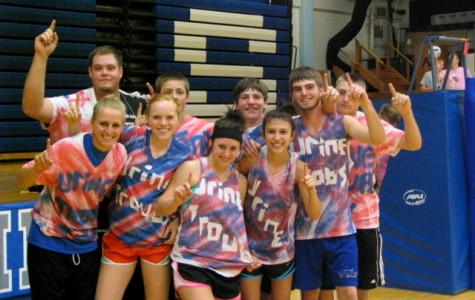 "Team ""Urine Trouble"" Wins the Bulldog Mini-Olympics"