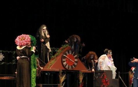 One-Act Crew Gets Prepared for District Competition