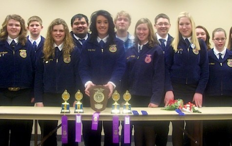 Alliance FFA Wins District Contest