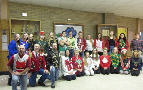 Ugly sweater contest: 2015