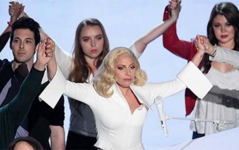 Gaga sends message to survivors