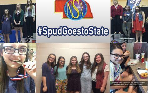 #SpudGoesToState