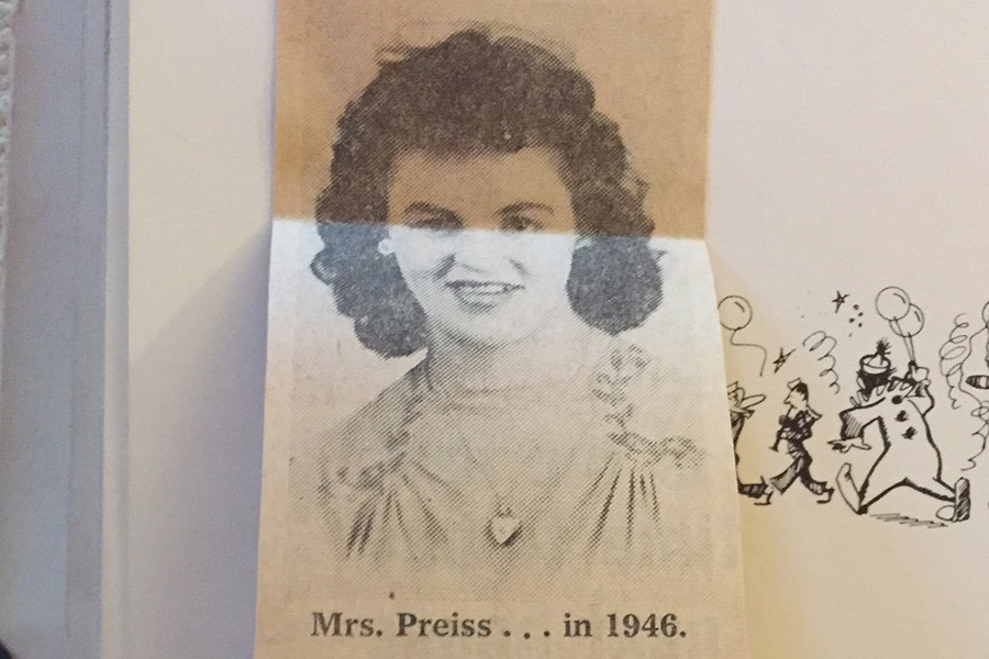 Mrs.+Betty+Preiss+in+1946