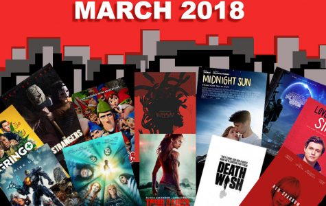 Upcoming Movies: March 2018