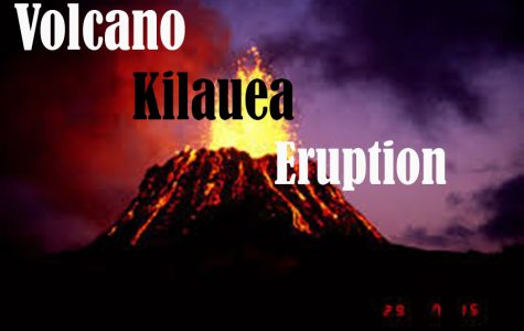 Volcano Kilauea Eruption
