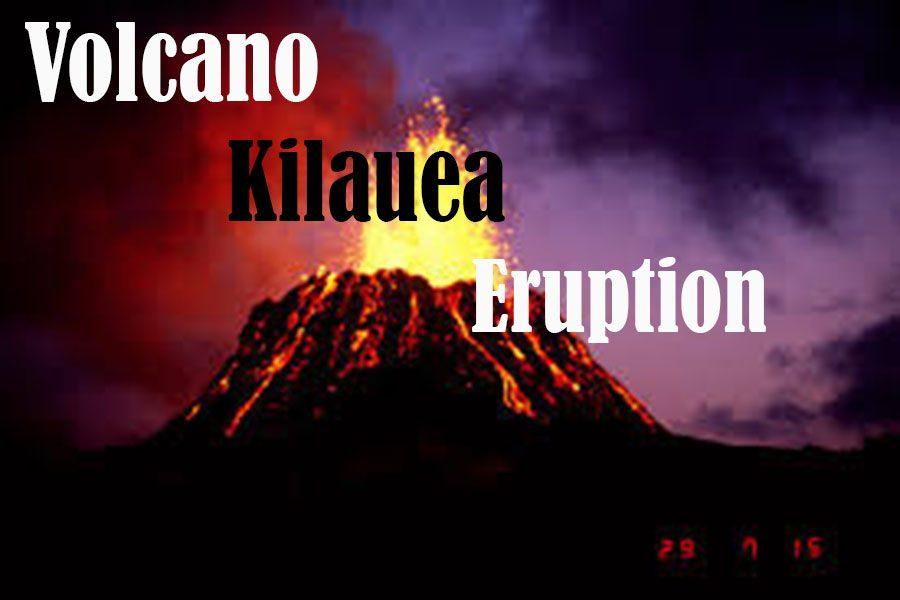 Volcano Kilauea Eruption