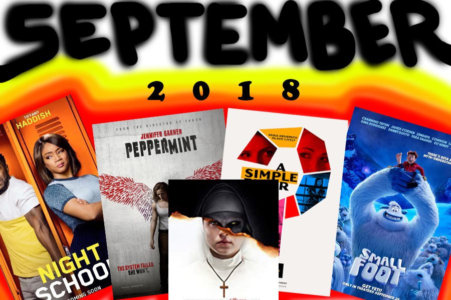 Upcoming Movies: September 2018