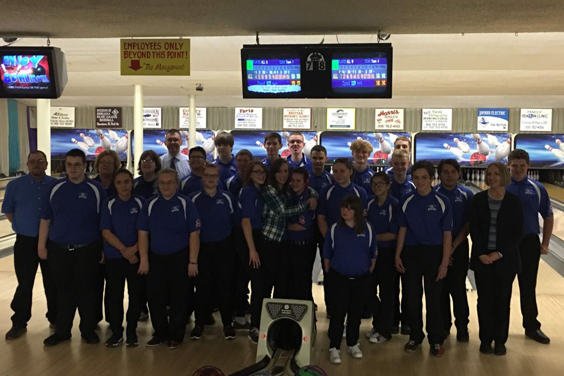 2018 Unified Bowling Team. Photo courtesy of Jennifer Morgan