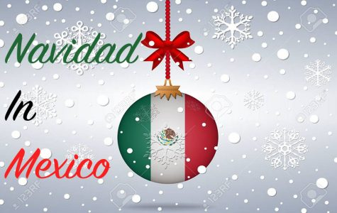 christmas background mexico