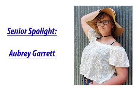 Senior Spotlight: Aubrey Garrett