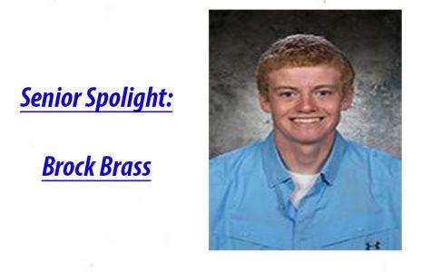 Senior Spotlight: Brock Brass