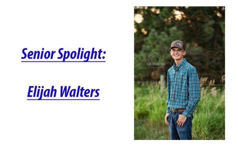 Senior Spotlight: Elijah Walters