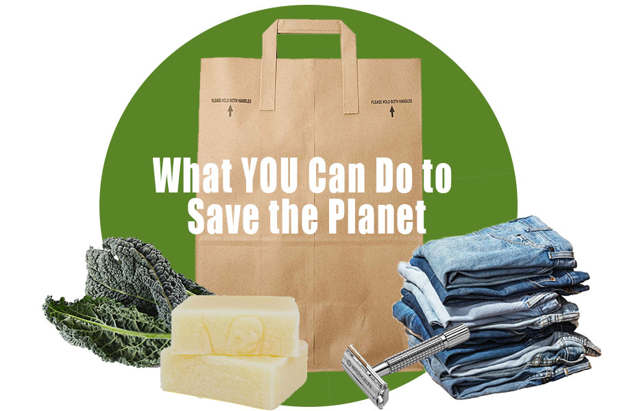 What YOU Can Do to Save the Planet