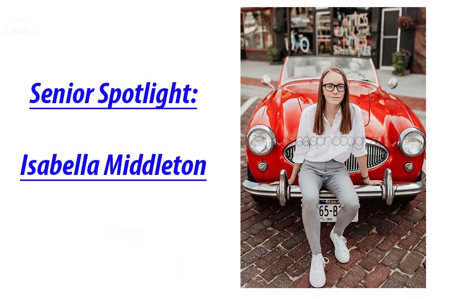 Senior Spotlight: Isabella Middleton