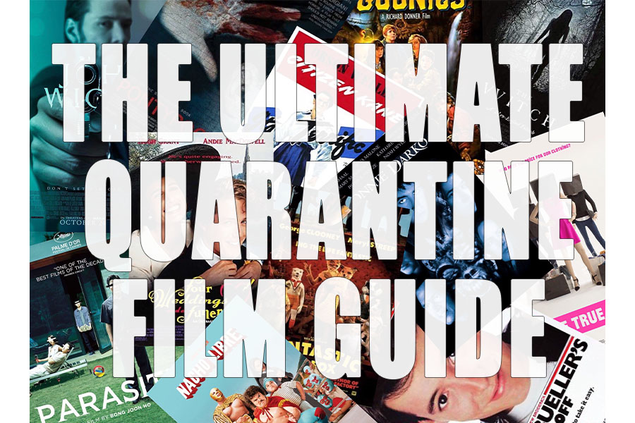 The Ultimate Quarantine Film Guide