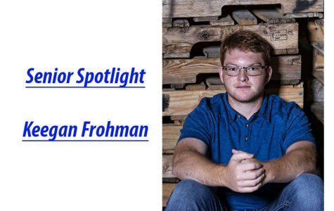 Senior Spotlight: Keegan Frohman