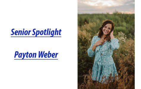 Senior Spotlight: Payton Weber