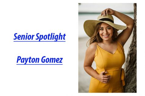Senior Spotlight: Payton Gomez