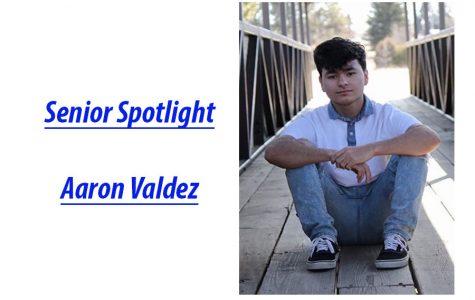 Senior Spotlight: Aaron Valdez