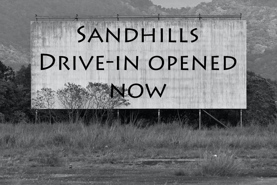 Social Distancing at the Sandhills Drive-In