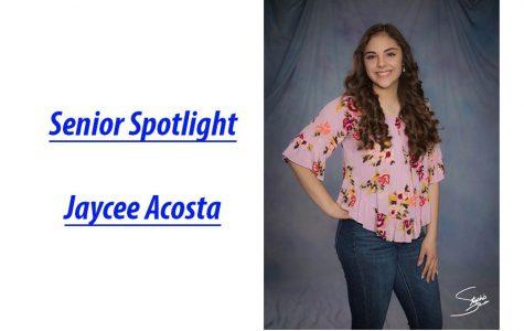 Senior Spotlight: Jaycee Acosta