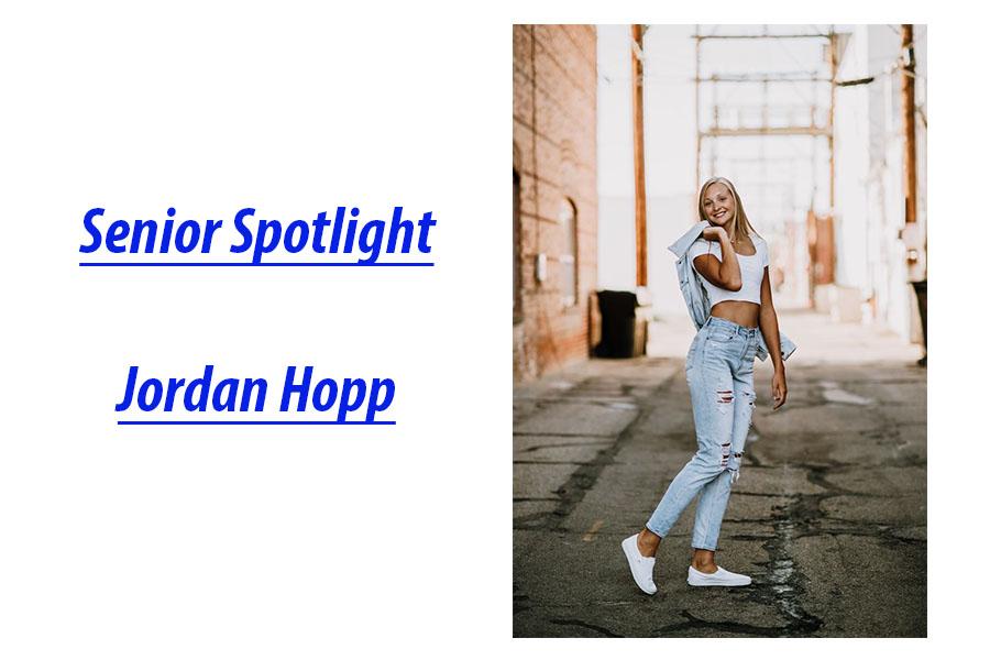 Senior Spotlight: Jordan Hopp