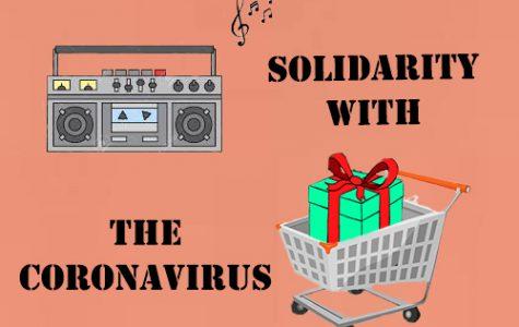 The solidarity with the Coronavirus