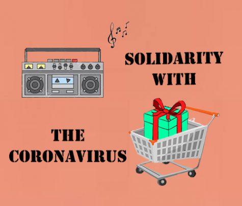 The solidarity with the Coronavirus
