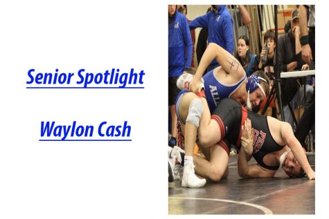 Senior Spotlight: Waylon Cash