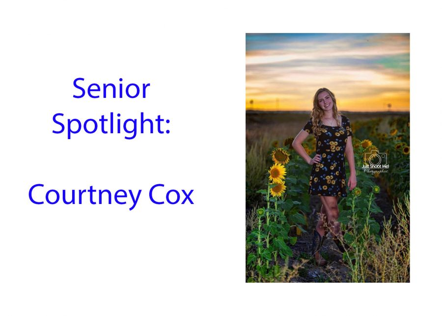 Senior Spotlight: Courtney Cox