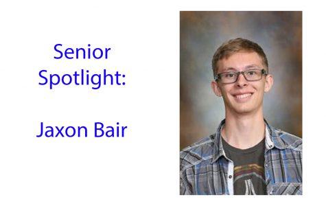 Senior Spotlight: Jaxon Bair