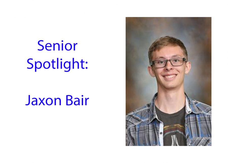 Senior Spotlight: Jaxon Bair