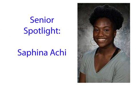 Senior Spotlight: Saphina Achi