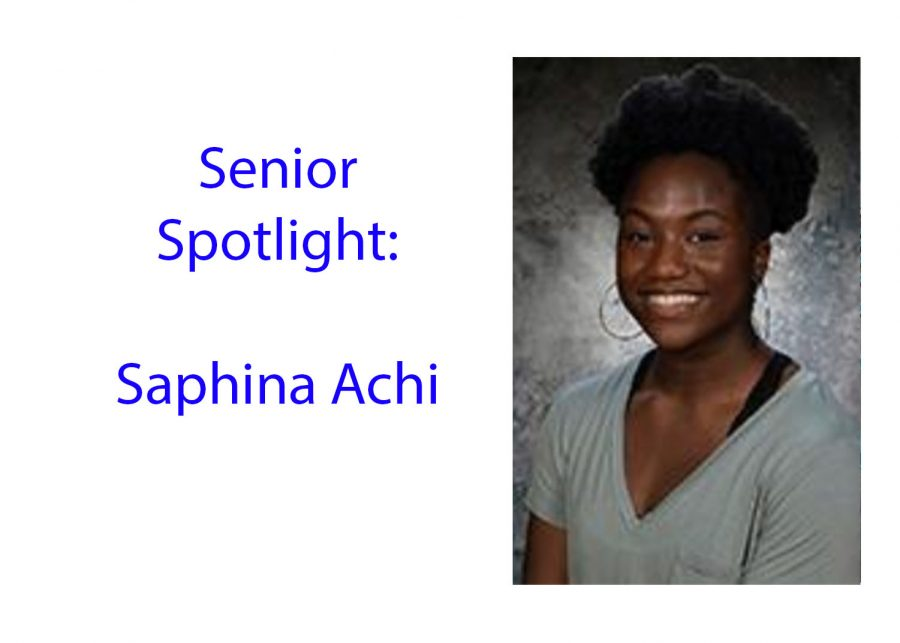 Senior Spotlight: Saphina Achi