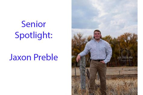 Senior Spotlight: Jaxon Preble