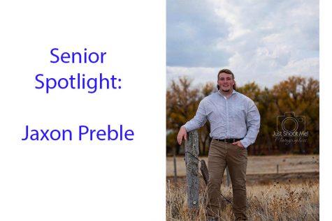 Senior Spotlight: Jaxon Preble