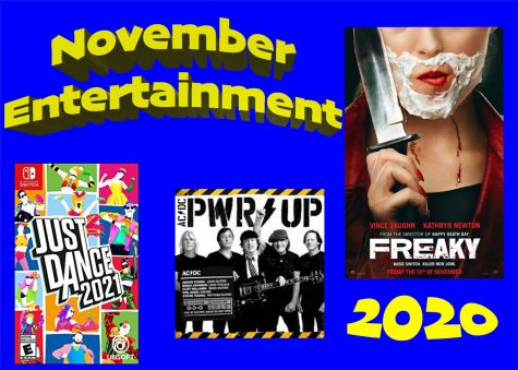 Upcoming Entertainment: November 2020