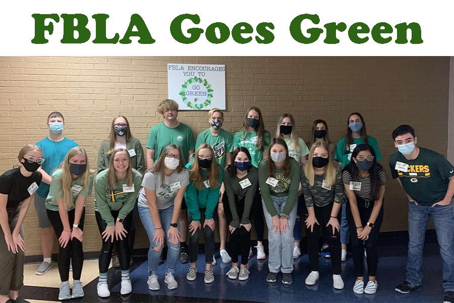 FBLA Goes Green