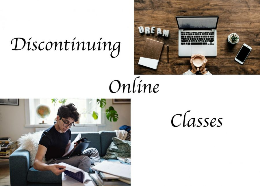 Discontinuing Online Classes