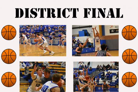 Alliance Boys fall short to Blair in District Basketball Finals