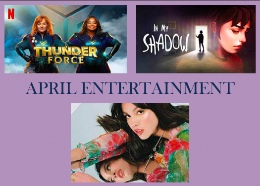 Upcoming Entertainment: April 2021