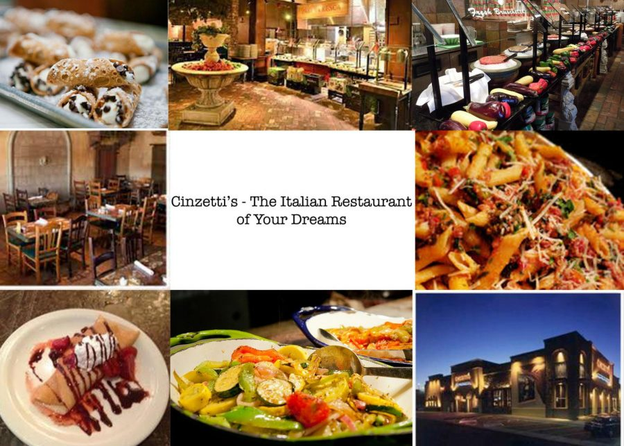 Cinzetti's - The Italian Restaurant of Your Dreams