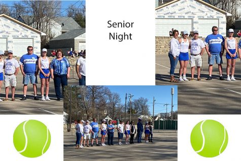 Senior Night Tennis