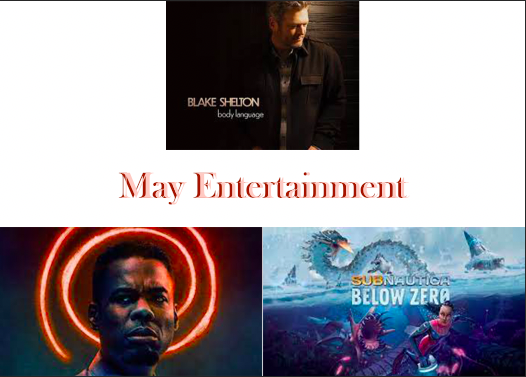 Upcoming Entertainment: May 2021